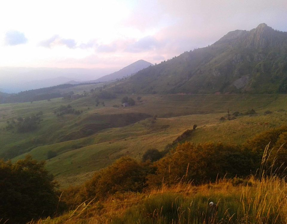 chalet des 2 roches paysage