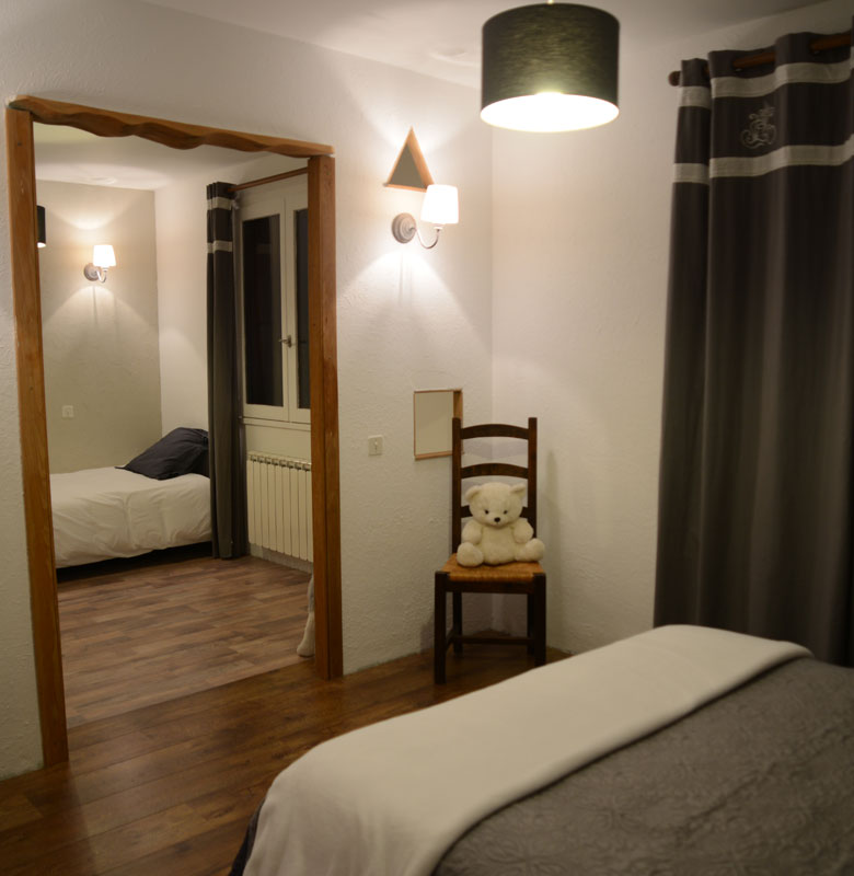 chalet 2 roches chambre familiale