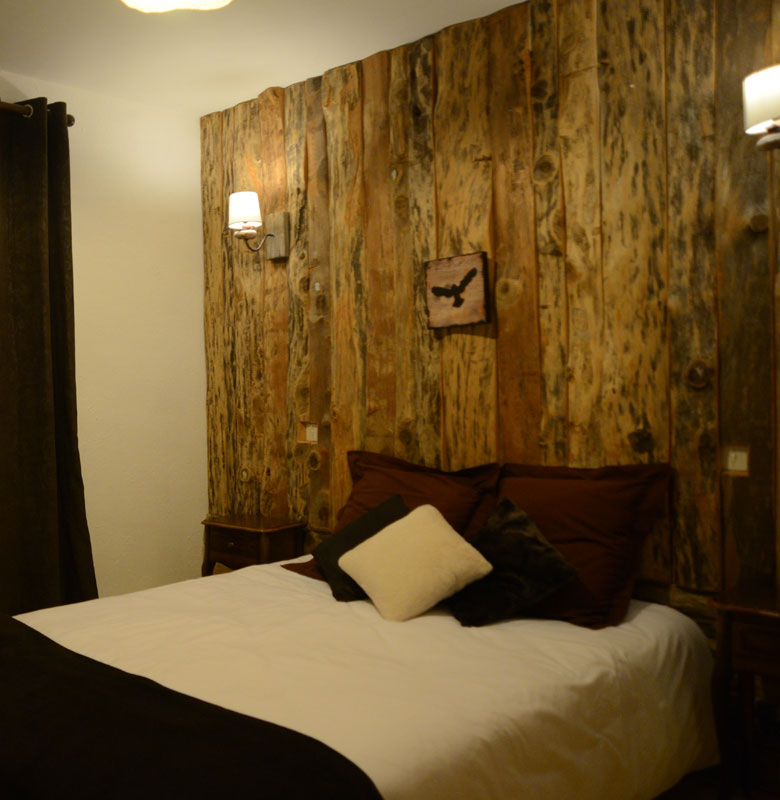 chalet 2 roches chambre double